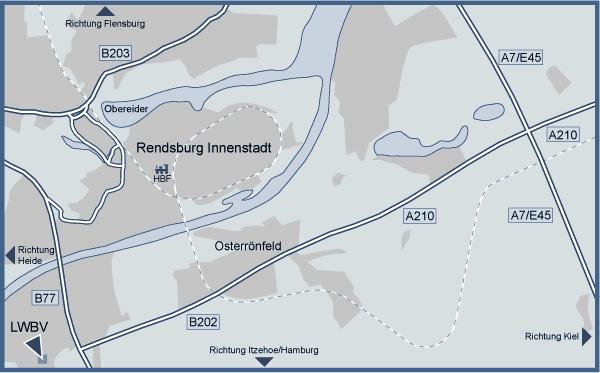 Anfahrt Karte - Landesverband der Wasser- und Bodenverbände